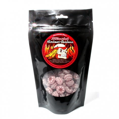 Raspberry candies extrahot 200gr