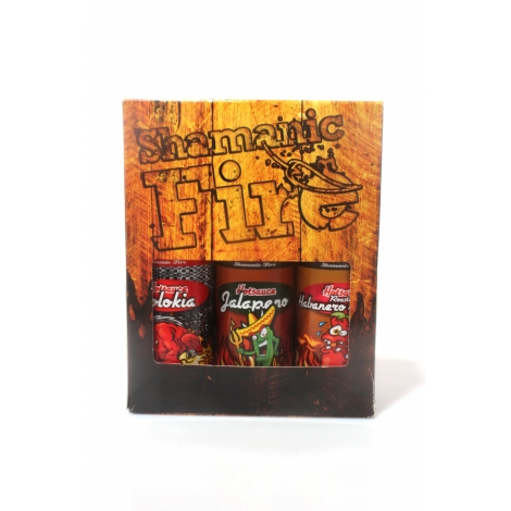 Shamanic Fire Box 2 Hotsauces