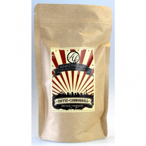Coffee Cannonball BBQ-Rub