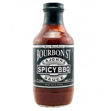CaJohns Bourbon St Spicy Barbecue Sauce