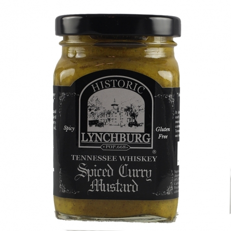 Historic Lynchburg Spiced Curry Mustard
