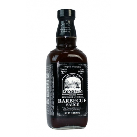 Tennessee Whiskey BBQ Sauce - 100 POOF